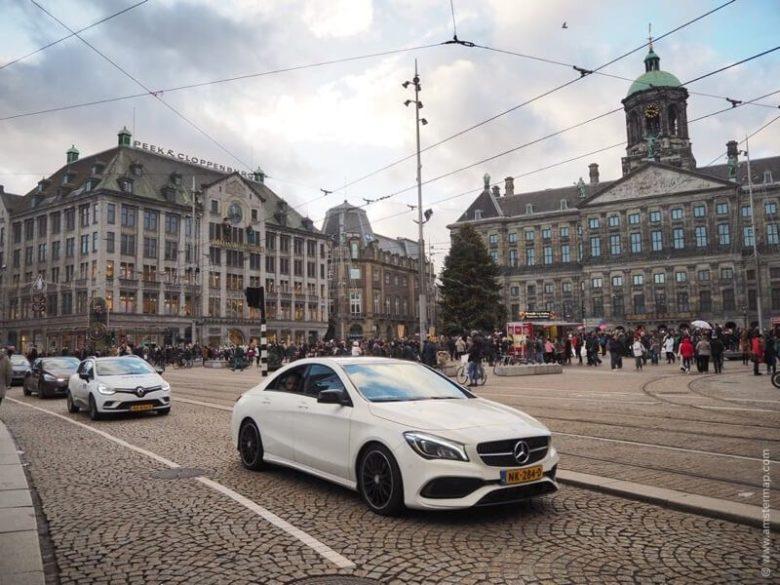 Площадь Дам (Dam Square) - достопримечательность в Амстердаме