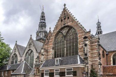 Что посмотреть в центре Амстердама - Церковь Oude Kerk