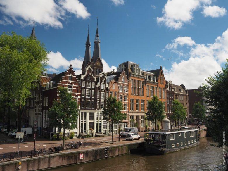 Достопримечательности Амстердама, каналы Амстердама фото, что посмотреть, куда сходить, Голландия