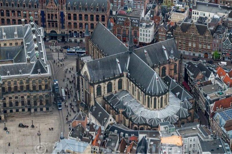 Достопримечательности в центре Амстердама