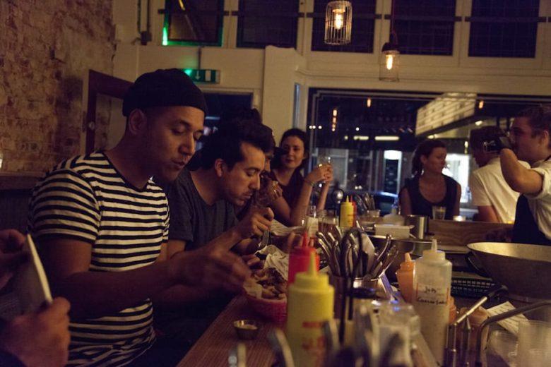 Где поесть в Амстердаме кафе Rotisserie Amsterdam