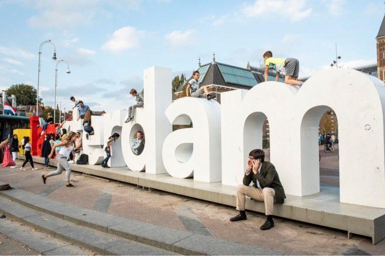Где буквы iamsterdam в Амстердаме