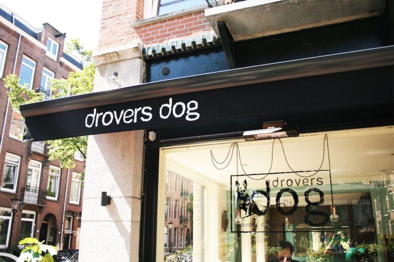Лучшие места для завтрака в Амстердаме кафе Drovers Dog