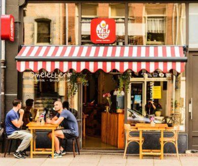 Лучшие места для завтрака в Амстердамев Амстердаме кафе Omelegg