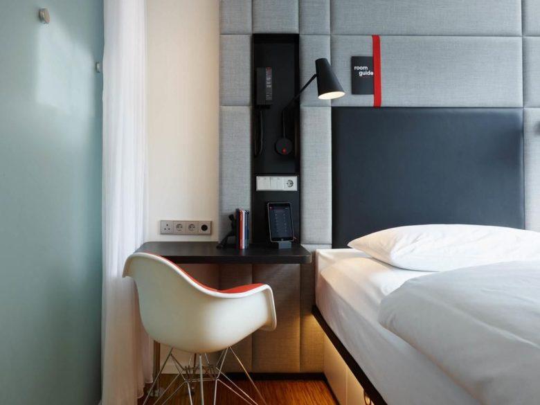 Стильный отель 4 звезды citizenM Amstel Amsterdam
