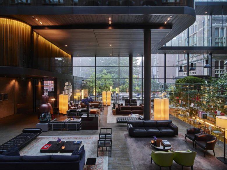 Пятизвездочный отель класса люкс в Амстердаме Conservatorium Hotel