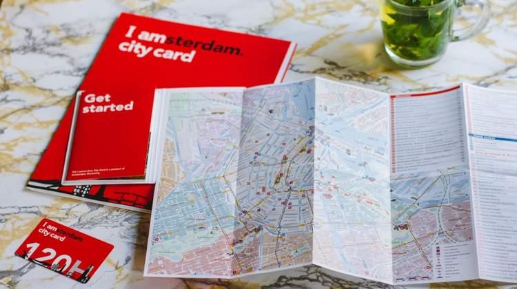 Сэкономить на достопримечательностях Амстердама - карта iAmsterdam City Card