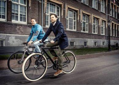 Транспорт в Амстердаме - велосипеды