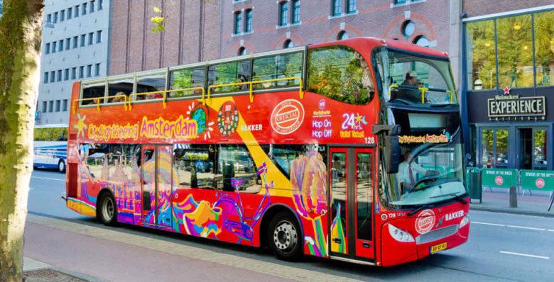 Автобусные экскурсии Hop-On Hop-Off в Амстердаме