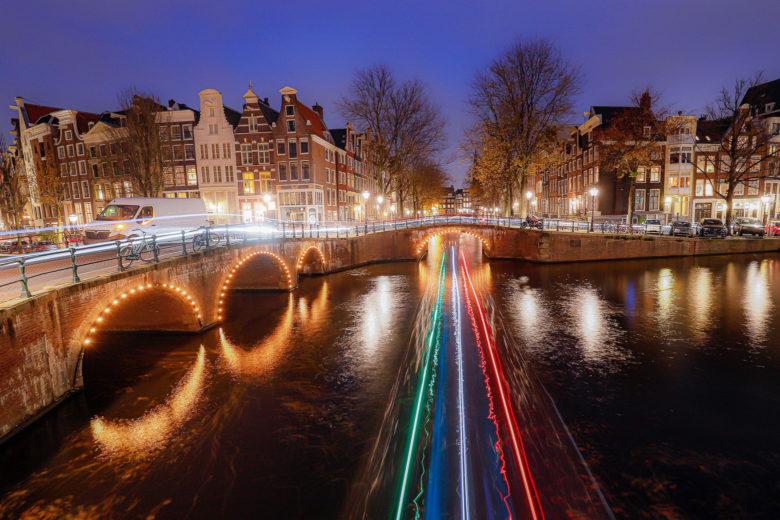 Каналы Амстердама на фото
